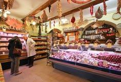 Italian grocery shop Stock Photo