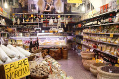 Italian grocery store Royalty Free Stock Photography
