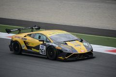 Italian GT Cup Lamborghini Gallardo at Monza Stock Photography