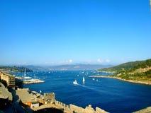 Italian gulf landscape Stock Photography