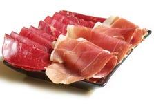 Italian ham Stock Photography