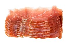 Italian ham Stock Photo