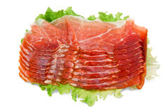 Italian ham Stock Photography