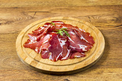 Italian ham called Stock Images