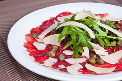 Italian ham dinner Stock Photography
