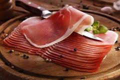 Italian ham Stock Photos