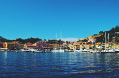 Italian Harbor Royalty Free Stock Photo