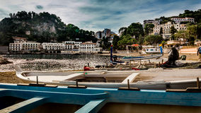 Italian Harbour Royalty Free Stock Photography