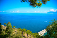 Italian harbour in sicily Royalty Free Stock Photography