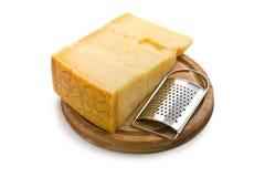 Italian hard cheese Stock Photos