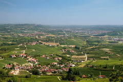 Italian Hills Stock Photography