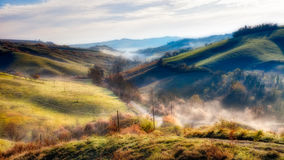 Italian hills Stock Photo