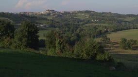 Italian hills stock footage