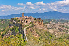 Free Italian Hilltown Civita Di Bagnoregio Royalty Free Stock Image - 30180946