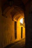 Italian historical town Stock Image