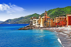 Italian holidays - Camogli Stock Photos