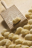 Italian homemade gnocchi Royalty Free Stock Photo