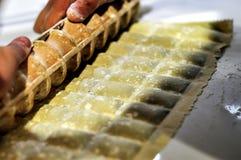 Italian homemade Pasta Ravioli Royalty Free Stock Images