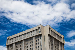 An italian hospital in a skyscrape Royalty Free Stock Photo