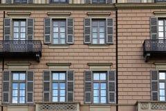 Italian house facade Royalty Free Stock Photo