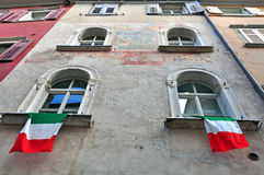 Italian house. In old town Royalty Free Stock Photography