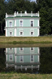 Italian House is reflected in a pond (Kuskovo Estate near Moscow Stock Images