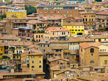 Italian house in siena Stock Photography