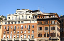 Italian houses Stock Photography