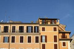 Italian houses Royalty Free Stock Images