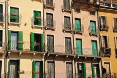 Italian houses Royalty Free Stock Photography