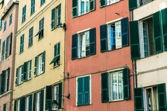 The italian houses Royalty Free Stock Photo