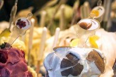 Italian ice cream Royalty Free Stock Images