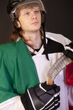 Italian ice hockey player Royalty Free Stock Photography