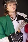 Italian ice hockey player Royalty Free Stock Photography