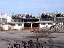 Italian industrie building demolition Stock Image