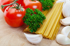 Italian ingredients Stock Photo
