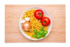 Italian ingredients Royalty Free Stock Image