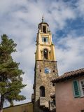 Italian inspired ornate buildings in Portmeirion Royalty Free Stock Photography