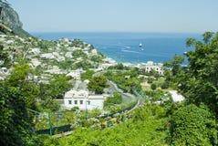 Italian island Capri Royalty Free Stock Photo