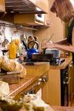 Italian Kitchen royalty free stock photos