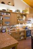 Italian Kitchen stock image
