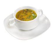 Italian kitchen.soup with beef Stock Images