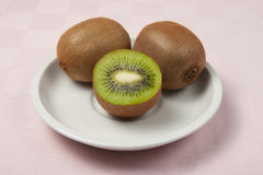 Kiwi. Italian kiwi in little dish Stock Photo