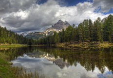 Italian Lake Royalty Free Stock Photography
