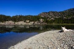 Italian lake. Lake of Servant in Mont Avic park, Val D'Aosta, Italy Stock Photo