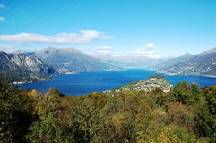 Italian lake Stock Images