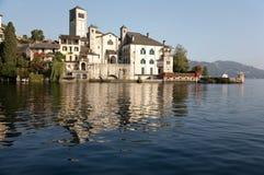 Italian lake Royalty Free Stock Photo