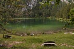 Italian lake and alps Royalty Free Stock Photo