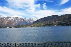 Italian lake Como Royalty Free Stock Images