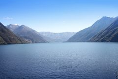 Italian Lake Como Royalty Free Stock Images